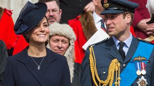 Katalin hercegné néha elfelejti, hogy terhes
