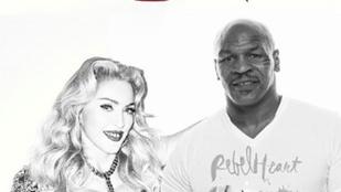Madonna és Mike Tyson: MI TÖRTÉNIK?