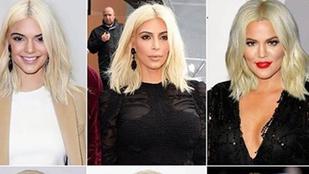 Már biztos elképzelte az összes Kardashiant szőkén