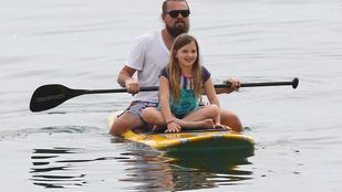 Leonardo DiCaprio kimaxolta a cukiskodást barátja kislányával