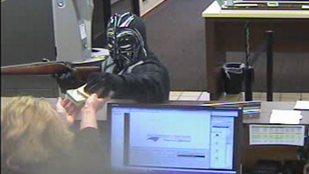 Darth Vader rabolt bankot