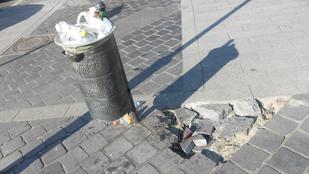 Szar anyagokból készülhetett a Kolosy tér