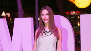 Szekeres Nóra legalább olyan vékony, mint Angelina Jolie