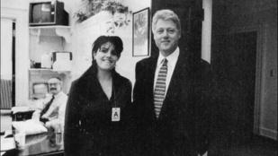 Lewinsky ismét a szájára vette Clintont