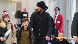 David Beckham csak a saját fia szerint nem menő