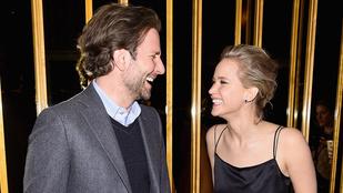 Az a lényeg, hogy Jennifer Lawrence-nek és Bradley Coopernek nagyon jó kedve van
