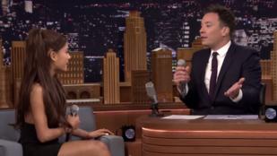 Ariana Grande Céline Dionként is elég meggyőző