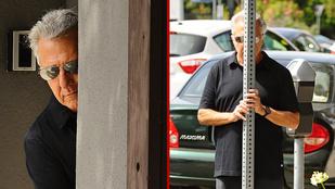 Dustin Hoffmann egyre viccesebben bujkál