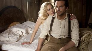 Jennifer Lawrence és Bradley Cooper nevetett a szexjelenetek forgatásakor