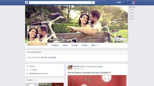 Romantikus vagy kínos a közös Facebook-profil?