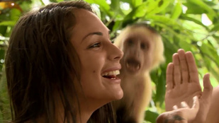 Éden: Beus tenyerét kinyalta egy majom