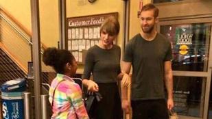 Eléggé úgy néz ki, hogy Taylor Swift és Calvin Harris összejöttek