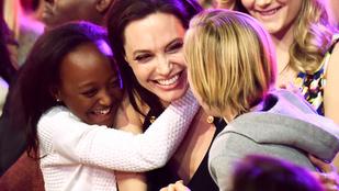 És akkor elolvad a szíve: Jolie és a lányai gyönyörűek és cukik