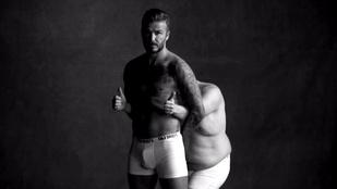 David Beckham gatyában vicceskedett