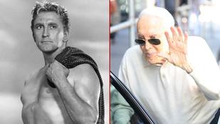 Így néz ki most a 98 éves Kirk Douglas