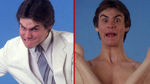 Nézegessen ősrégi képeket a gumifejű Jim Carrey-ről!