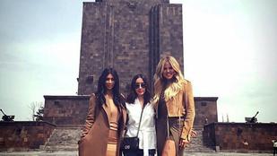 Ilyen, amikor Kardashian egy posztszovjet országba látogat