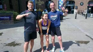 53 maratonon tekert a csajért, végül összejöttek