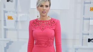 Jól lefogyott Scarlett Johansson