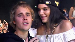 Bieber szétcsúszottan mutatkozott a nőjével a Coachellán