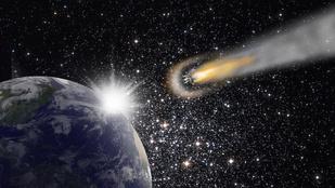Még ez is: méretes aszteroida tart a Föld felé