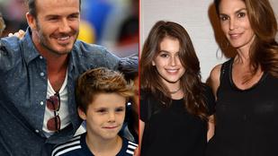 Celebgyerekek, akik megszólalásig hasonlítanak a híres szüleikre