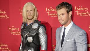 Chris Hemsworth viaszszobra mindennél bénább