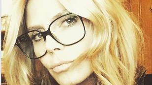 Szemüvegben még szexibb Heidi Klum