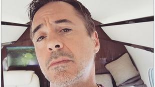 Robert Downey Jr. megmutatta viszonylag újszülött lányát