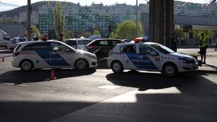 Balesetek bénítják Budapest belvárosát