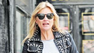 Kate Moss mikor öregedett Madonnává?!