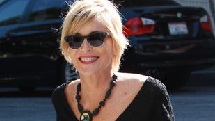 Döbbenet, Sharon Stone nem villantott semmit
