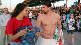 Úristen, Phelps milyen szőrös lett!