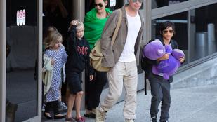 Mégiscsak jön a hetedik Jolie-Pitt gyerek