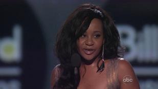 Whitney Houston lányát levehették az életben tartó gépekről