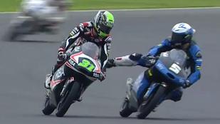 Így töri ketté az agresszivitás egy motorversenyző karrierjét