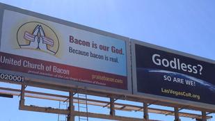 Diszkriminálták, mert a baconben hisz, és nem Istenben