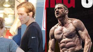 Jake Gyllenhaal napi 2000 felüléssel lett újra egy két lábon járó bicepsz