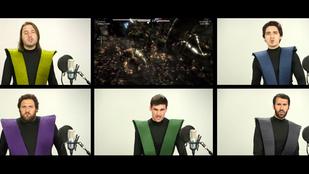 Most nyert értelmet az acapella: itt a Mortal Kombat főcíme acapellában