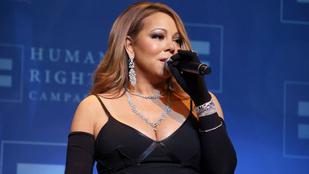 Ebben a videóban nehéz nem Mariah Carey melleire koncentrálni