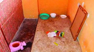 Borzasztó: Zárkában tartották saját kislányukat a kislétai szülők