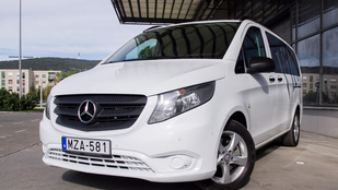 Teszt: Mercedes Vito Tourer 119 BlueTec 7G-Tronic PLUS - 2015.