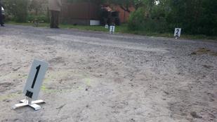 Lovaskocsi szaladt bele egy kerítésbe Balatonberényben