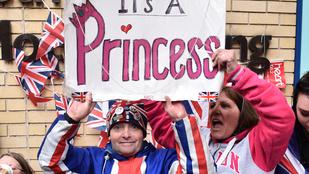 Bemutatták Katalin hercegné és Vilmos herceg újszülött lányát