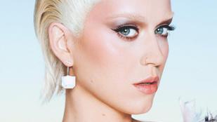 Katy Perry felismerhetetlen: orrpiercinges albínó kisfiú lett