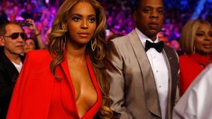 Beyoncé bokszmeccsre vitte a melleit