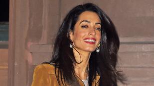 Amal Clooney még mindig tökéletes, a lábaival együtt
