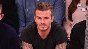 David Beckham még mindig nagyon menő