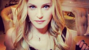 Madonna kicsit túlbonyolítja az ivást