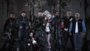 Suicide Squad: együtt pózolnak a szupergonoszok